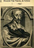 Hendrik van Varick (+1641), schout en markgraaf van Antwerpen.