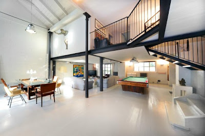 Top Interior Design Ideas for Loft Apartments http://homeinteriordesignideas1.blogspot.com/