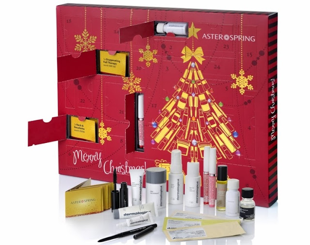 AsterSpring Beauty Advent Calender Gift Box, christmas present, christmas, Advent Calender Gift Box