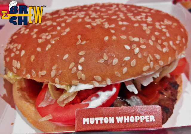 Burger King, Mutton Whopper