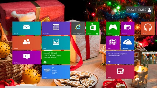 Merry Christmas 2014 Theme For Windows 7 And 8 8.1