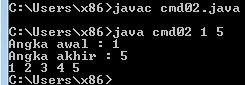 Membuat Aplikasi Java versi Command Line