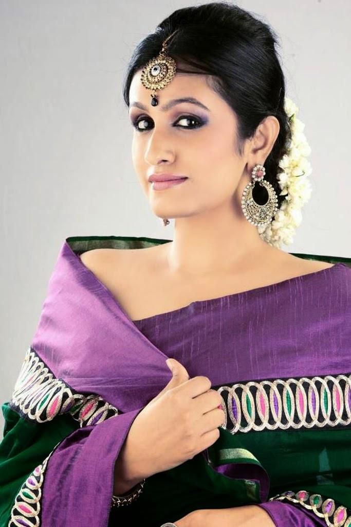 mallu actress kavitha nair Latest Hot Stills In Saree
