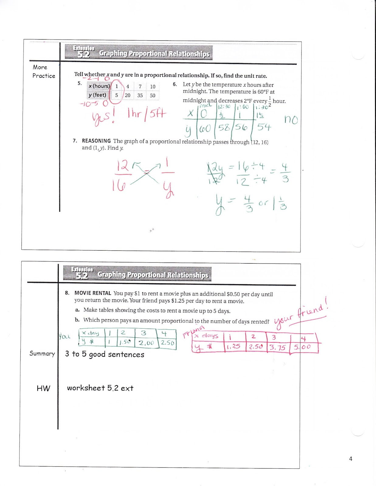 worksheet Graphing Proportional Relationships Worksheet ms jeans classroom blog math 7 5 2 extenstion graphing proportional reasoning