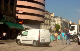 Rue de la République à Montpellier