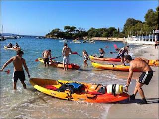 Kayak fête du Printemps Ajaccio