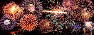 Gambar Kembang Api Tahun Baru Wallpaper HD Fireworks Happy New Year