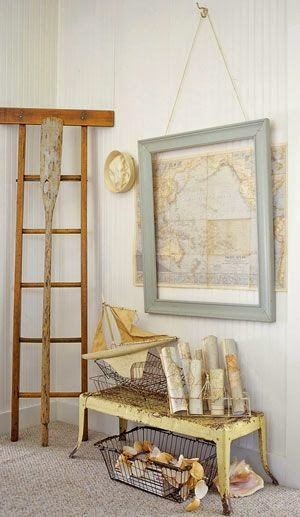 Top 15 DIY ways to use maps on walls