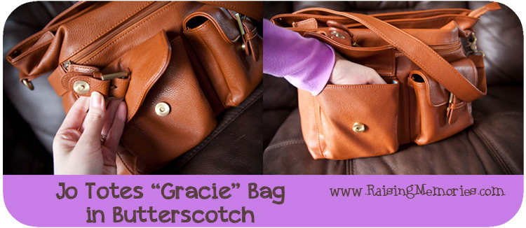 Jo Totes Gracie Bag Front Pockets