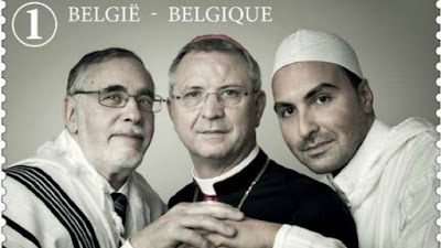 Rabbi, imam and bishop to adorn Belgian stamp