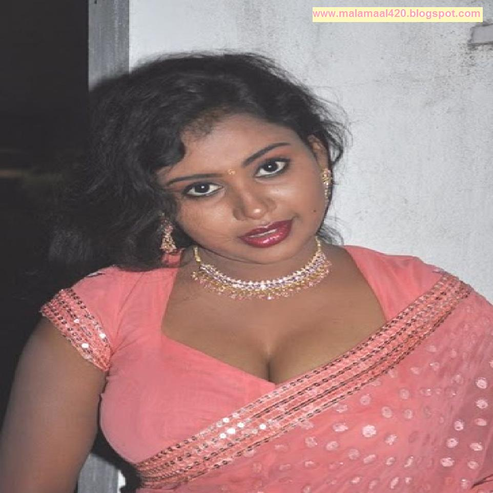 Mallu Bhabhi Nalini Hot Busty Boobs In Pink Blouse Hot Pictures & Hot