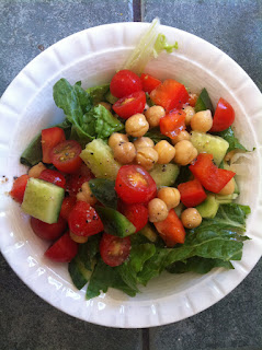 Super Easy Healthy Vegan Chickpea Salad, Three Ways