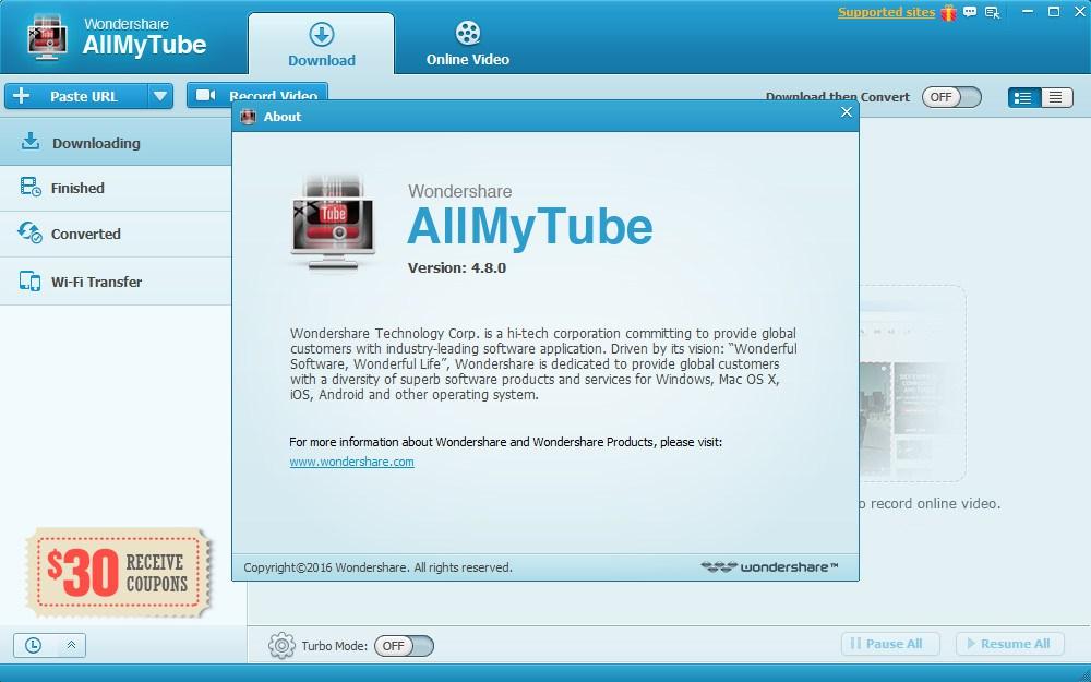 wondershare allmytube 4.8.0 serial