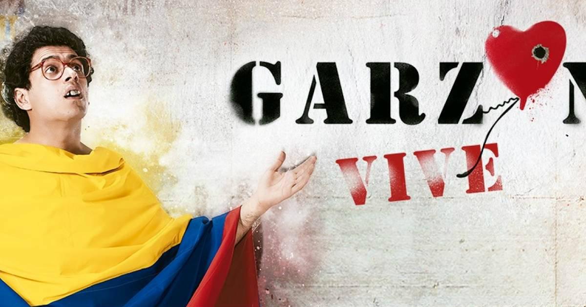 GARZON NOVELA