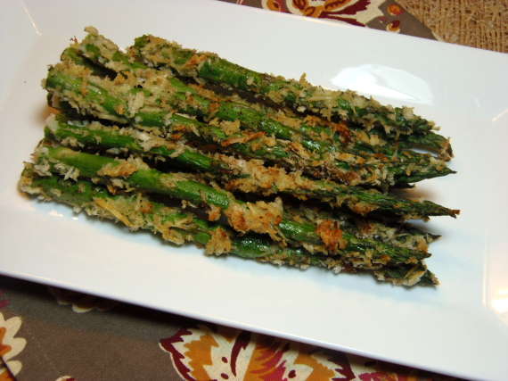Parmesan Crusted Asparagus Recipe