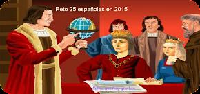 25 españoles