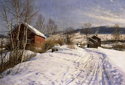Winterlandscape, Norway, Lillehammer  November
