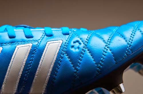 2014 Adidas 11pro SG football boots with solar blue color