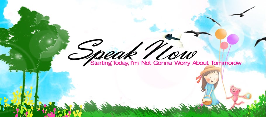 .::Speak Now::.