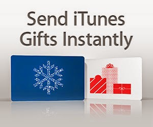 Send iTunes gifts
