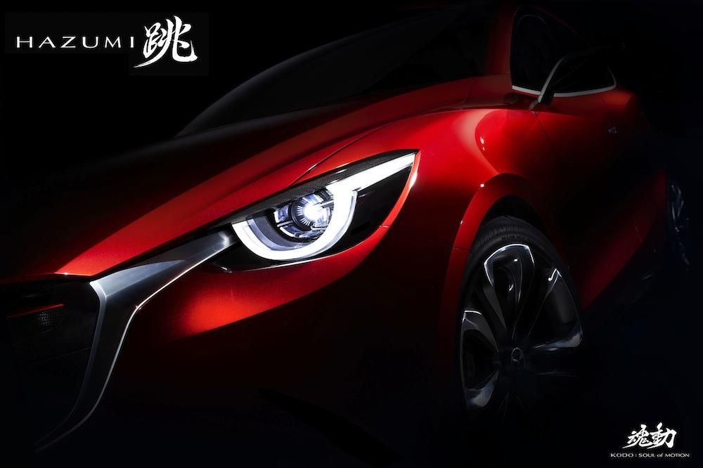 マツダが次世代コンパクトカーのコンセプトモデル「跳(HAZUMI)」を世界初公開へ。