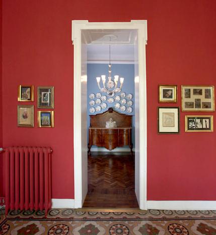 Vintage a colori ristrutturazione di una villa d 39 epoca - Colori per casa interni ...