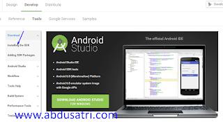cara install android sdk