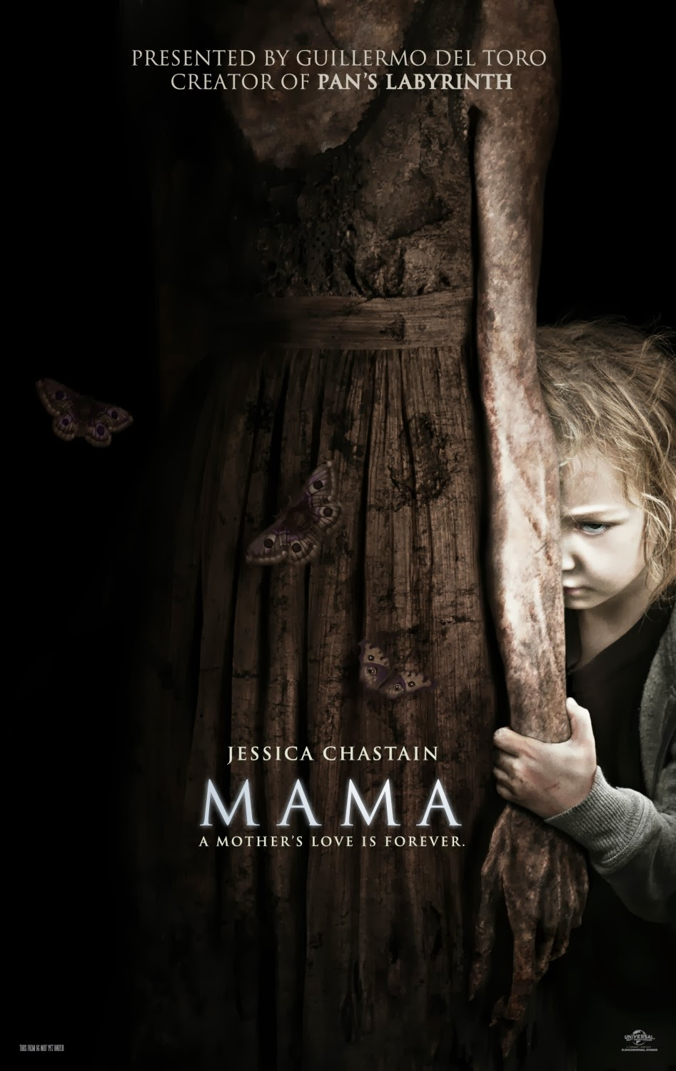 Movie with little girl ghost
