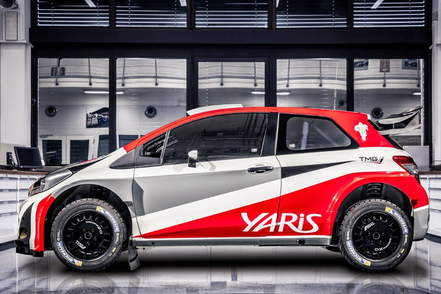 Toyota Yaris WRC Prototype 2017 Side