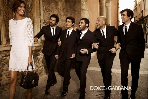 Dolce & Gabbana Menswear Campaign Fall/Winter 2012-2013