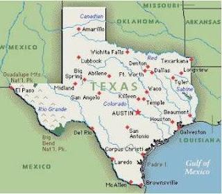 Map Of Luckenbach Texas