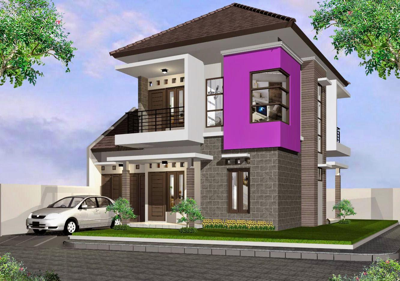 Desain Rumah Minimalis Modern Ukuran 8x10