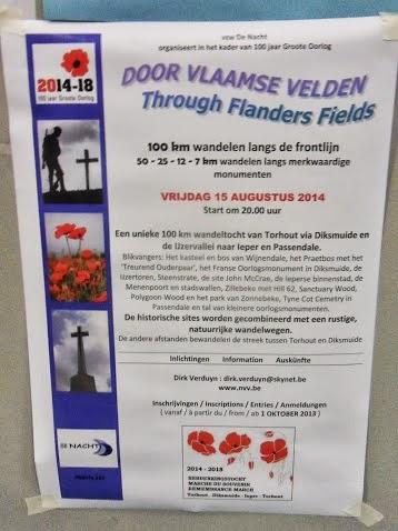 Sur la ligne de front 14-18: 100km à Torhout (B): 15/8/2014 SDC13498