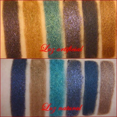 Endless Silky Eye Pen PIXI Swatches