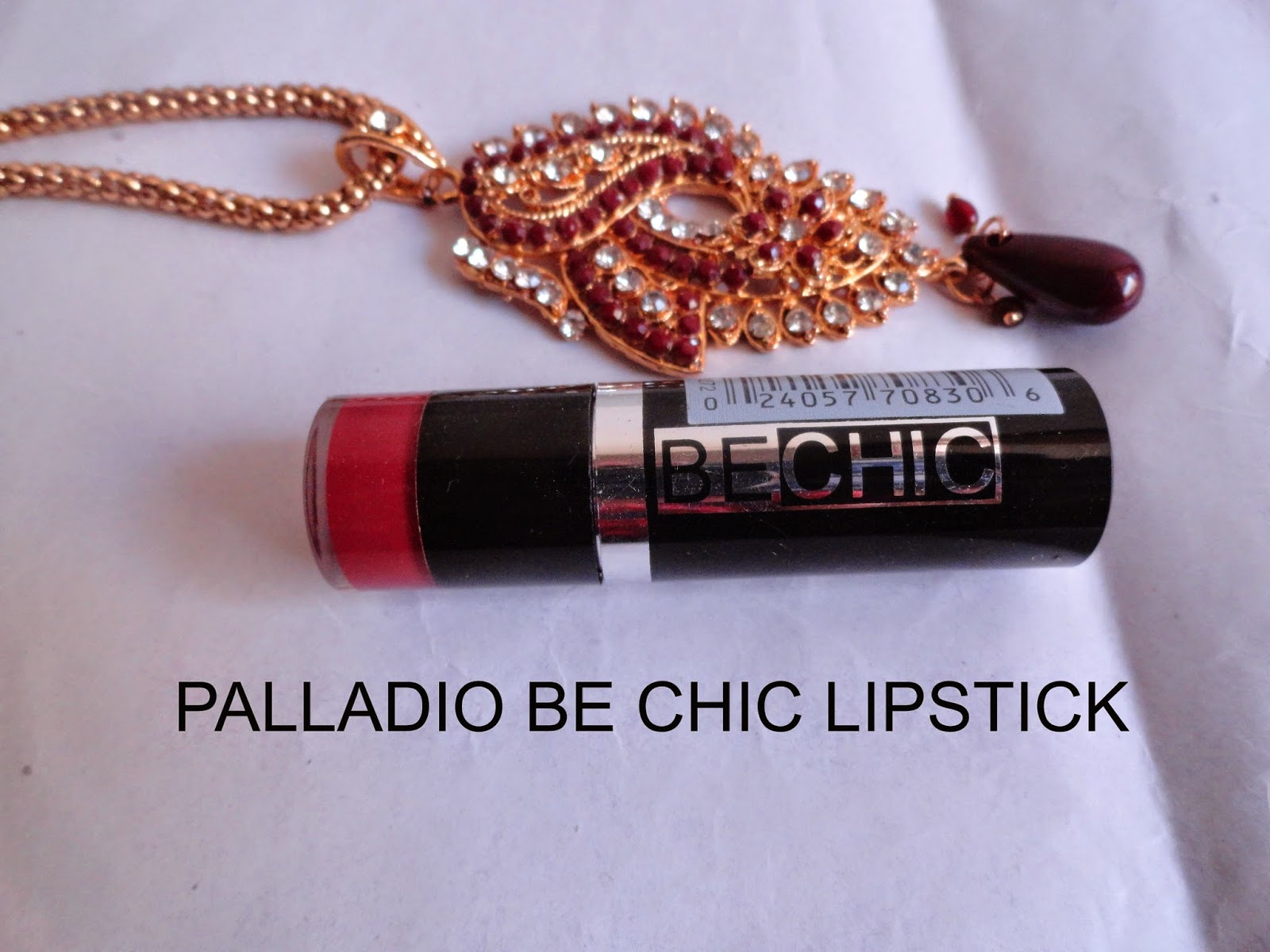 REVIEW: Palladio Be Chic Lipstick in Merlot. image