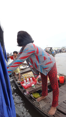 Речные торговцы, Дельта Меконга, Вьетнам