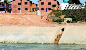 Esgoto só alcança 4,2% dos domicílios amazonenses e polui as águas.