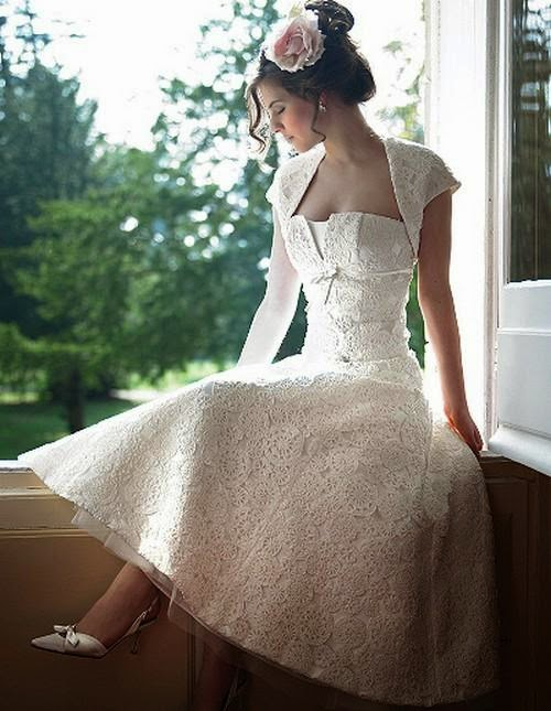 Short Wedding Dresses 2014 2015 for Young Teen Bridals