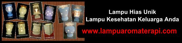 Produsen Lampu Hias Aromaterapi Jogjakarta