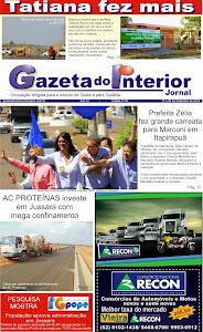 VEJA A EDIÇÃO Nº 53 DO JORNAL GAZETA DO INTERIOR