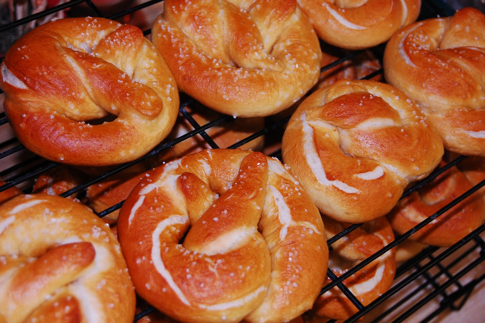 Soft Pretzels | While He Was Napping