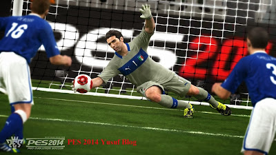 Screenshoot game pes 2014