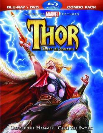 Poster Of Thor Tales of Asgard 2011 Dual Audio 720p  [Hindi - English] Free Download Watch Online