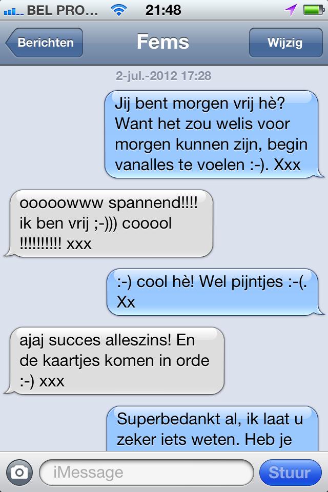 sms berichtjes liefde