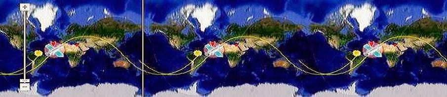 """** شاهد دوران القمر"""" المصري"""" - إيجي سات 2 - لحظة بلحظة + أقمار التجسس -* View the rotation  eg sat2"""
