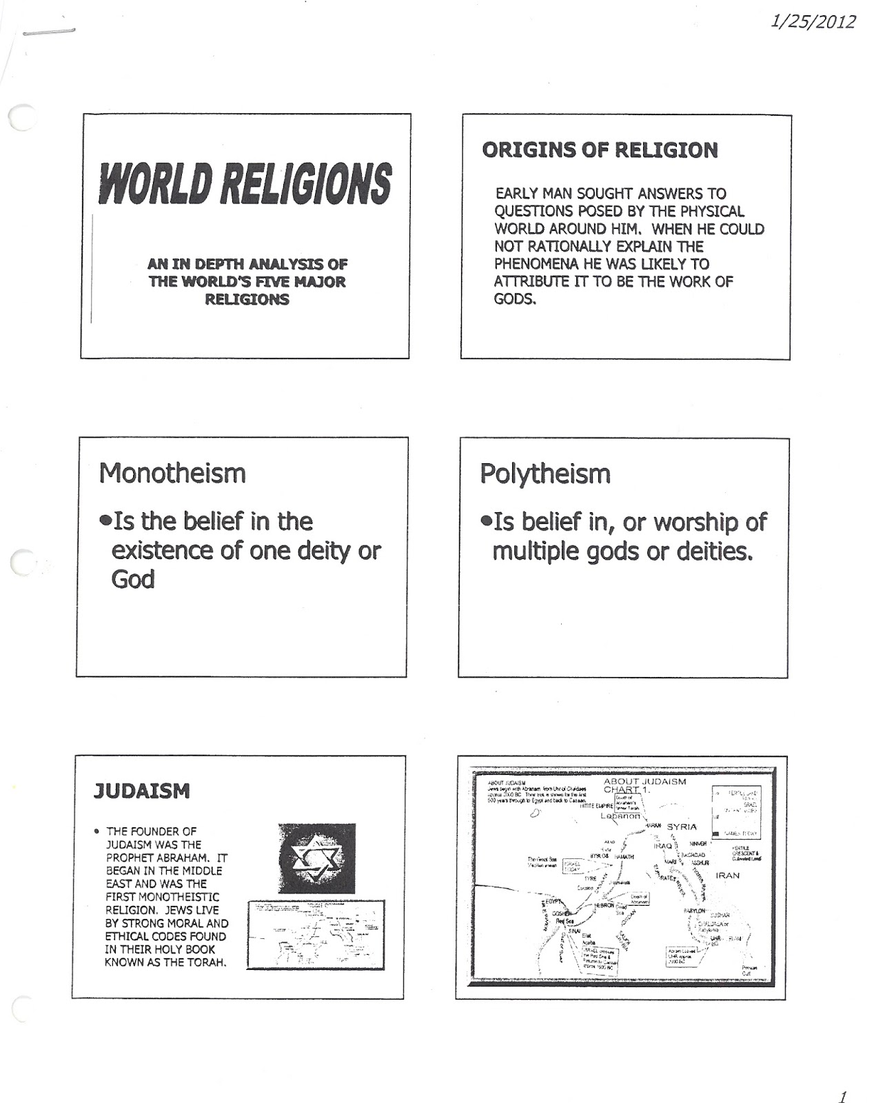world religions 101 study guide Relg 101: introduction to world religions  a study guide will be  a central component of this course centers on appreciating the world's religions as.