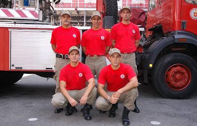 1 de maio: Homenagem ao trabalhador brasileiro:bombeiros