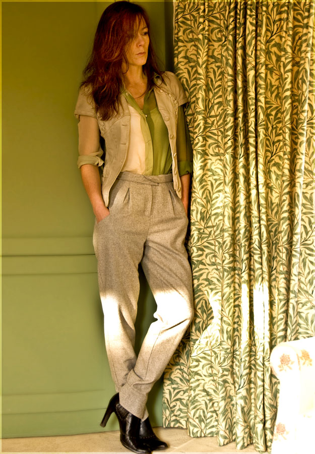 Psynopsis Take 10 F&F Couture by Tesco Wool Trousers Antonio Marras Leather Jacket Costume National Blouse Fendi Boots