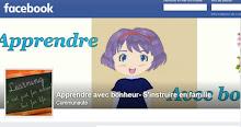 Page facebook associée : actualités du blog, partages divers