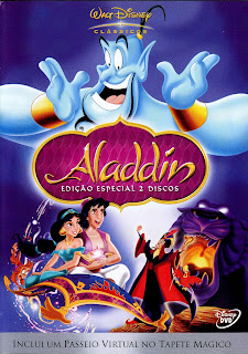 baixar capa Aladdin   Edição Especial   DVDRip AVI Dual Áudio + RMVB Dublado